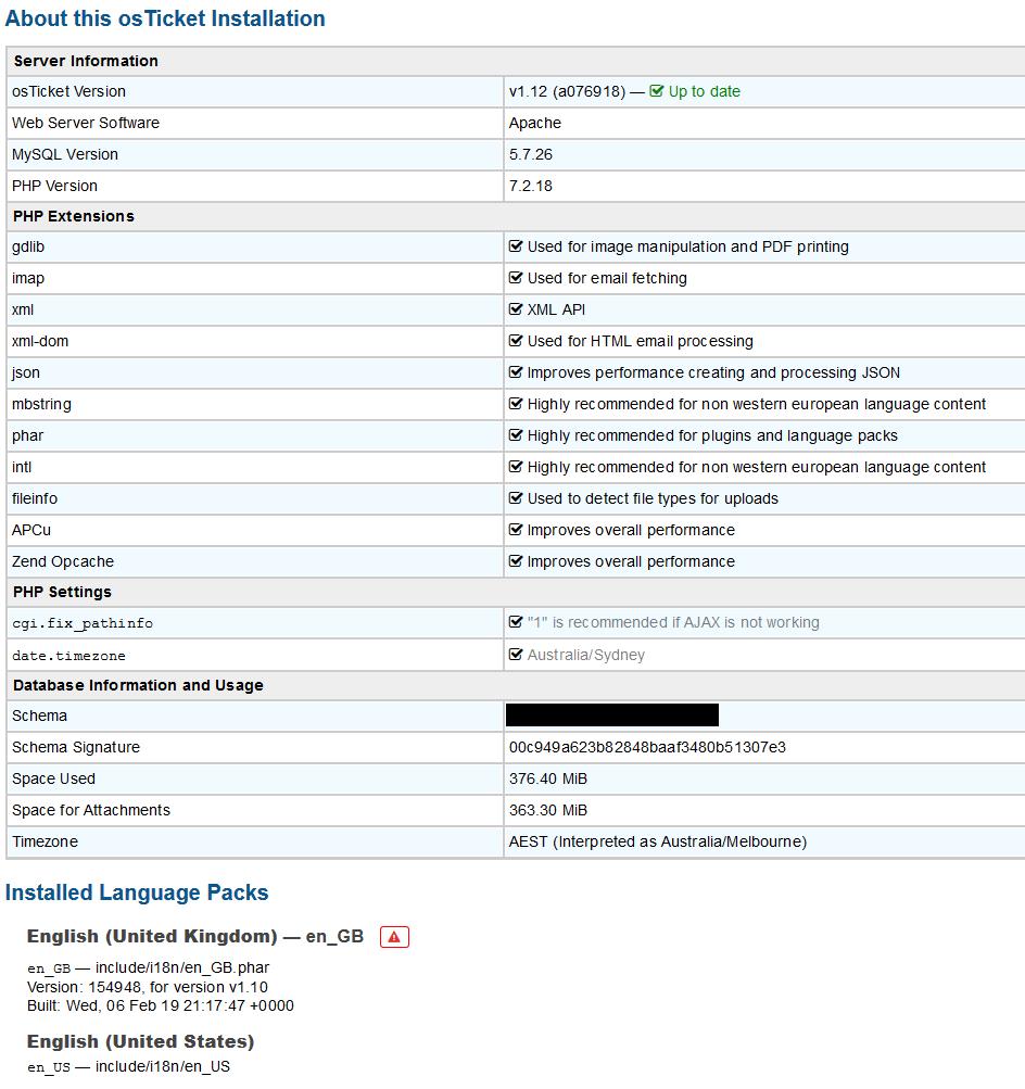 DB Error #1062 - osTicket Forum