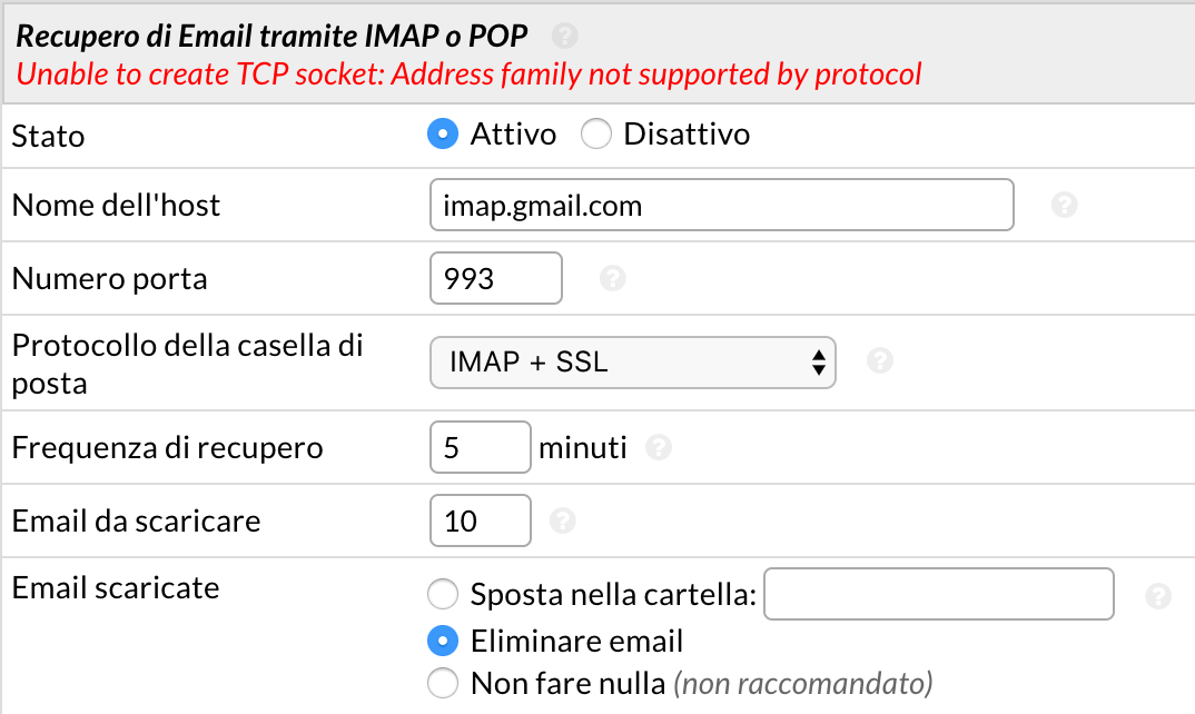 How Do I Fix Imap Gmail Error