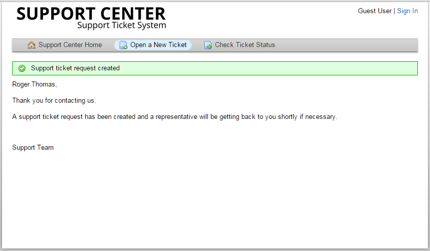 New ticket: Email not sent to client - osTicket Forum
