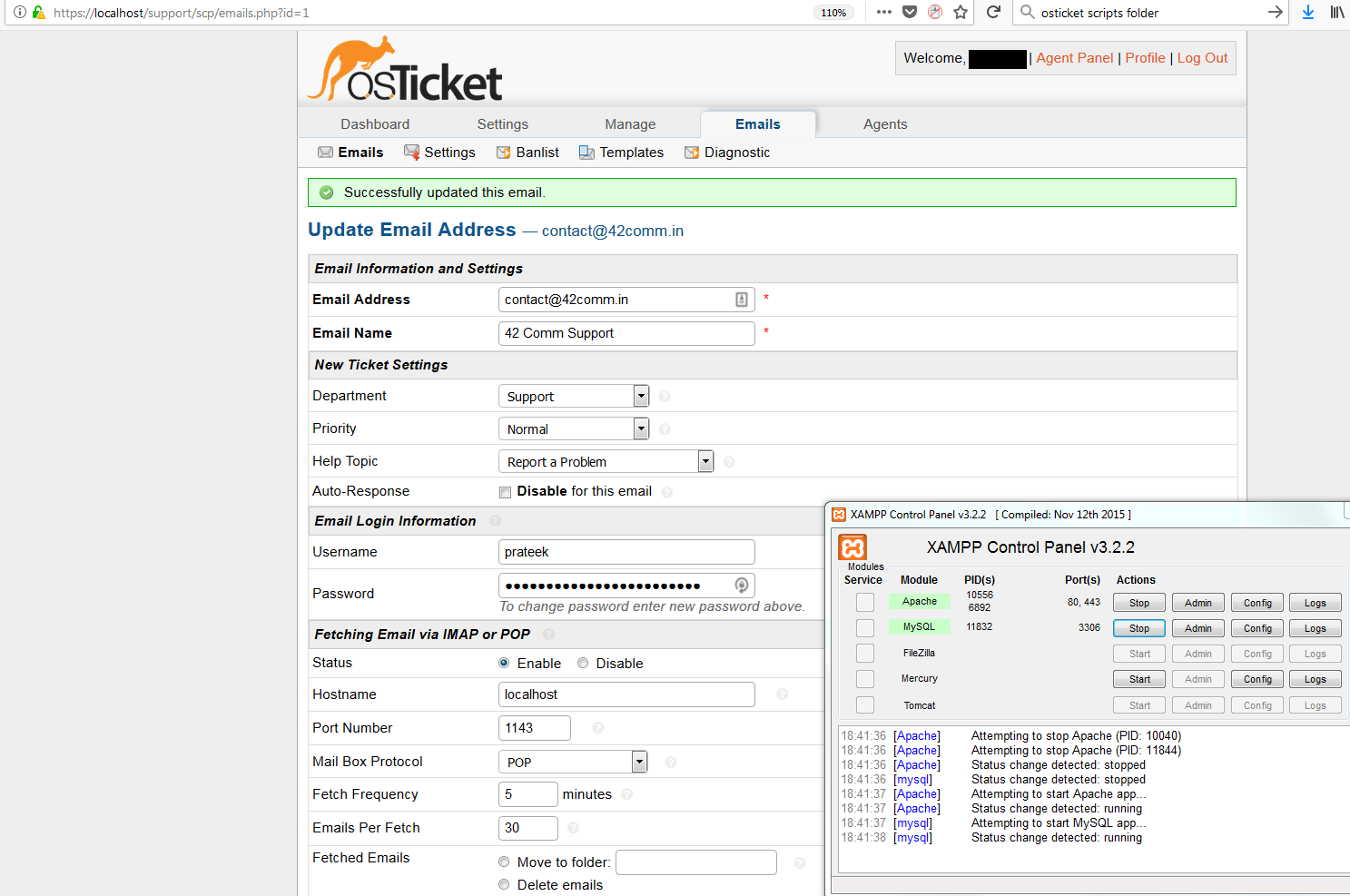 very slow page load times on ticket and other pages - osTicket Forum