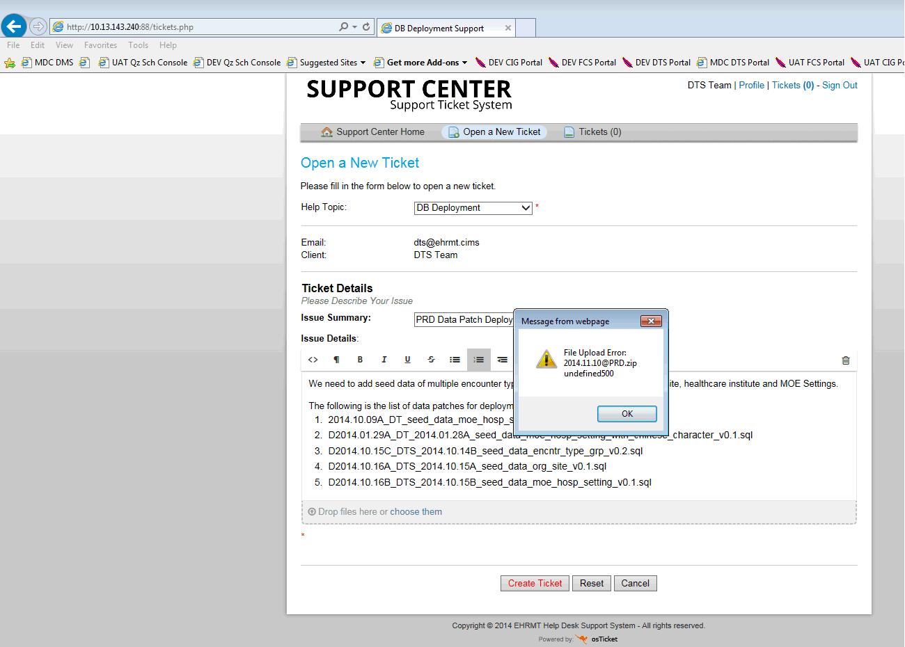 DTS Team User File upload Error.png